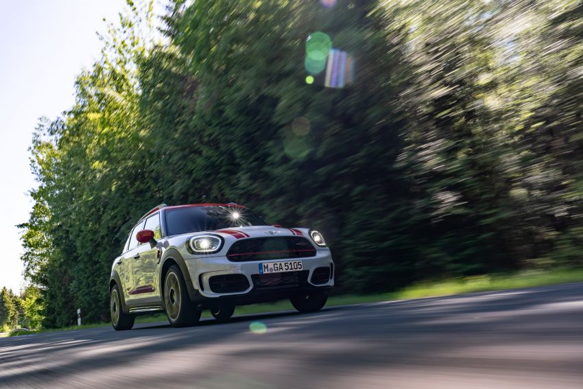 2020 F60 MINI John Cooper Works Countryman facelift debuts – updated styling; new kit; 306 PS and 450 Nm Image #1150419