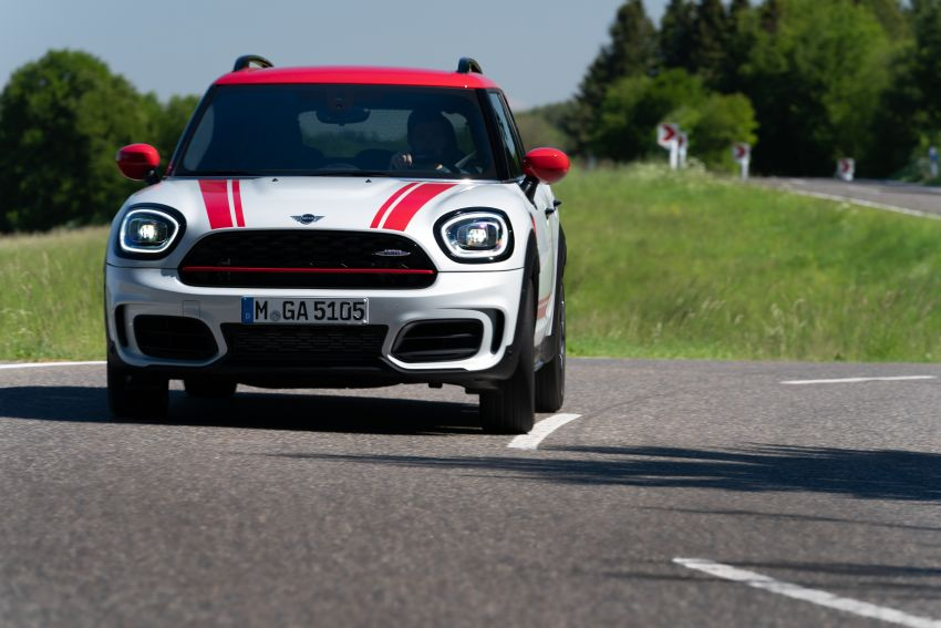 2020 F60 MINI John Cooper Works Countryman facelift debuts – updated styling; new kit; 306 PS and 450 Nm Image #1150423