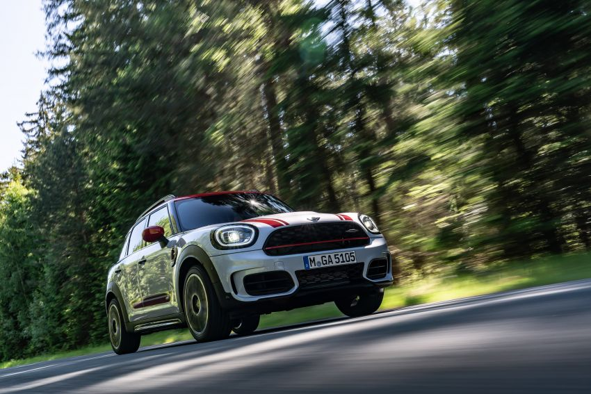 2020 F60 MINI John Cooper Works Countryman facelift debuts – updated styling; new kit; 306 PS and 450 Nm Image #1150405