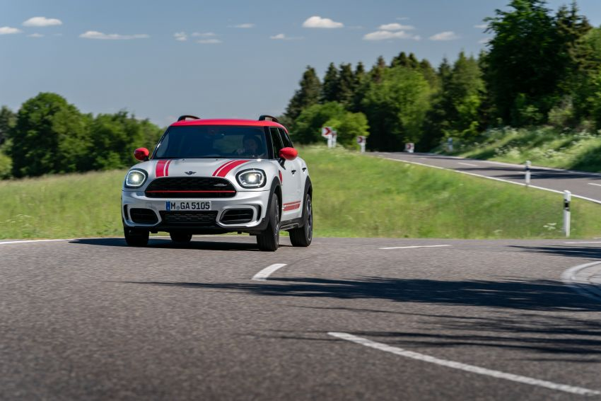 2020 F60 MINI John Cooper Works Countryman facelift debuts – updated styling; new kit; 306 PS and 450 Nm Image #1150432