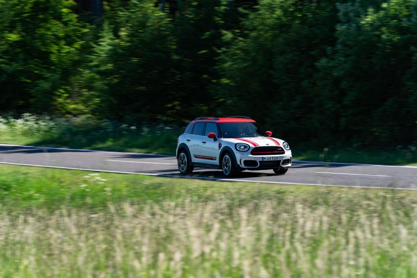 2020 F60 MINI John Cooper Works Countryman facelift debuts – updated styling; new kit; 306 PS and 450 Nm Image #1150436