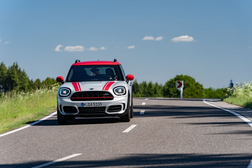 2020 F60 MINI John Cooper Works Countryman facelift debuts – updated styling; new kit; 306 PS and 450 Nm Image #1150439