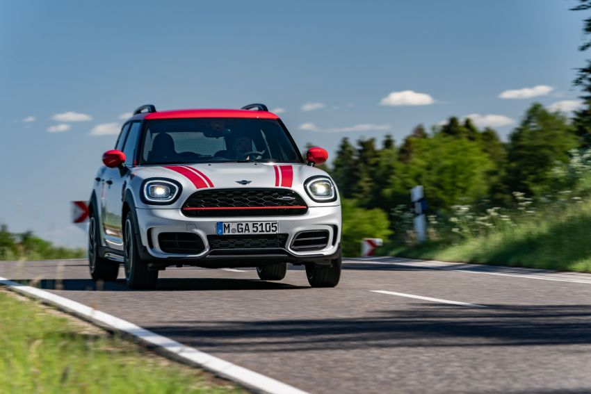 2020 F60 MINI John Cooper Works Countryman facelift debuts – updated styling; new kit; 306 PS and 450 Nm Image #1150440