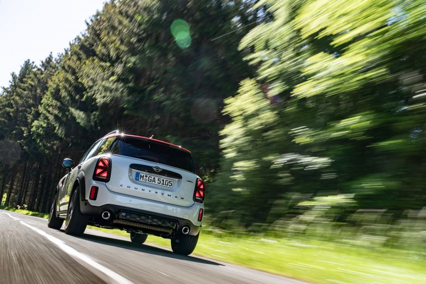 2020 F60 MINI John Cooper Works Countryman facelift debuts – updated styling; new kit; 306 PS and 450 Nm Image #1150441