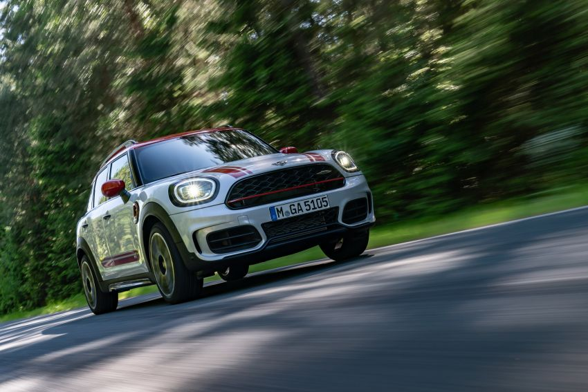 2020 F60 MINI John Cooper Works Countryman facelift debuts – updated styling; new kit; 306 PS and 450 Nm Image #1150406