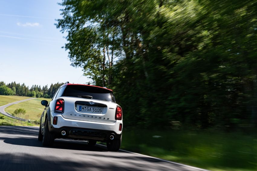 2020 F60 MINI John Cooper Works Countryman facelift debuts – updated styling; new kit; 306 PS and 450 Nm Image #1150444