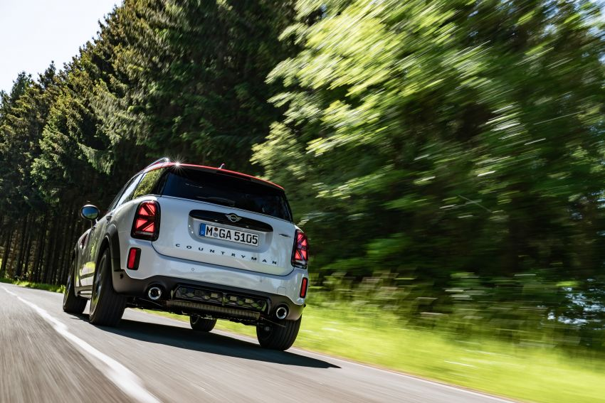 2020 F60 MINI John Cooper Works Countryman facelift debuts – updated styling; new kit; 306 PS and 450 Nm Image #1150446