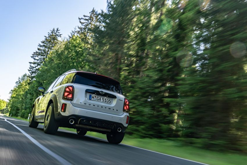 2020 F60 MINI John Cooper Works Countryman facelift debuts – updated styling; new kit; 306 PS and 450 Nm Image #1150447