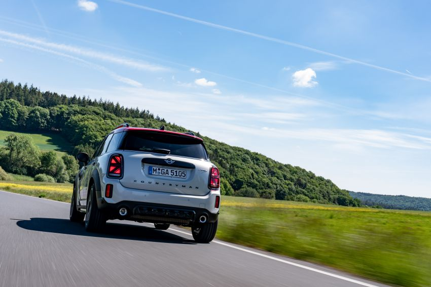 2020 F60 MINI John Cooper Works Countryman facelift debuts – updated styling; new kit; 306 PS and 450 Nm Image #1150449