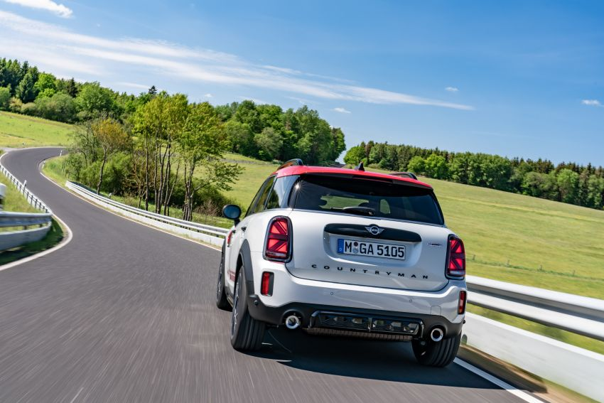 2020 F60 MINI John Cooper Works Countryman facelift debuts – updated styling; new kit; 306 PS and 450 Nm Image #1150450