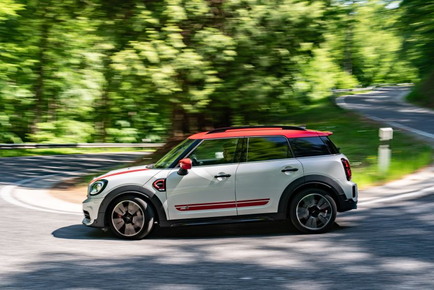 2020 F60 MINI John Cooper Works Countryman facelift debuts – updated styling; new kit; 306 PS and 450 Nm Image #1150453