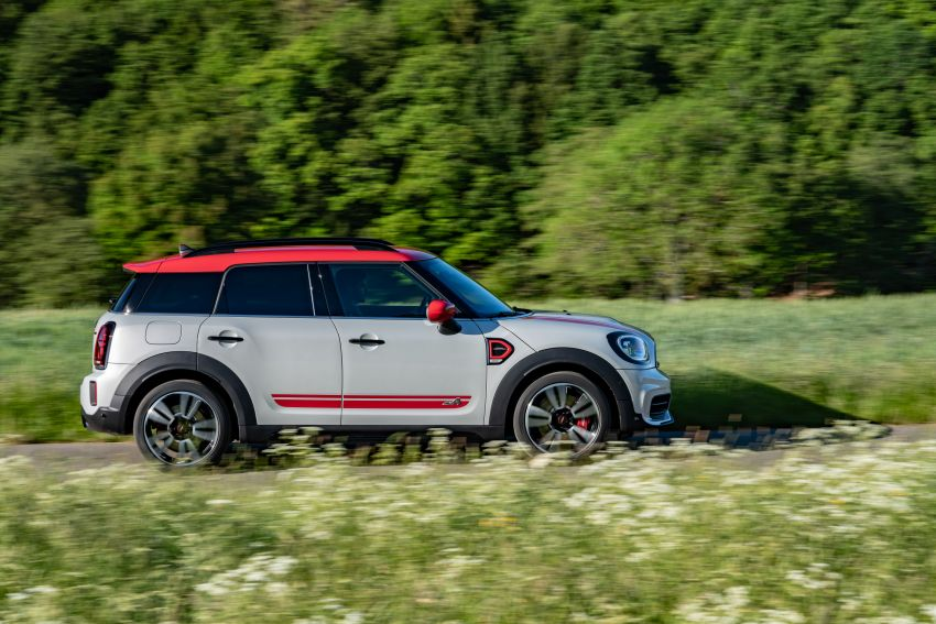 2020 F60 MINI John Cooper Works Countryman facelift debuts – updated styling; new kit; 306 PS and 450 Nm Image #1150455