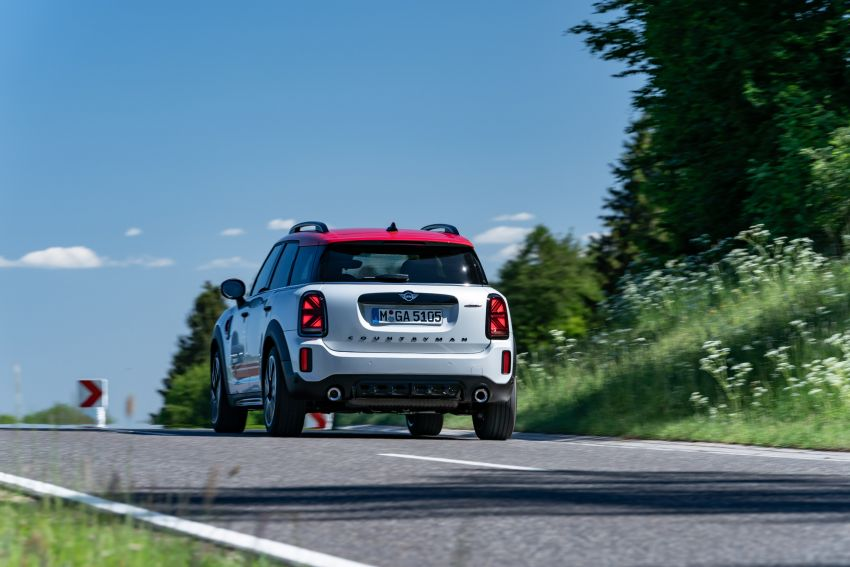 2020 F60 MINI John Cooper Works Countryman facelift debuts – updated styling; new kit; 306 PS and 450 Nm Image #1150466
