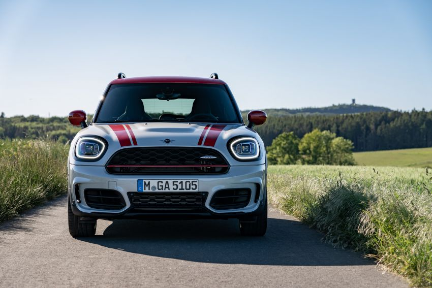 2020 F60 MINI John Cooper Works Countryman facelift debuts – updated styling; new kit; 306 PS and 450 Nm Image #1150470
