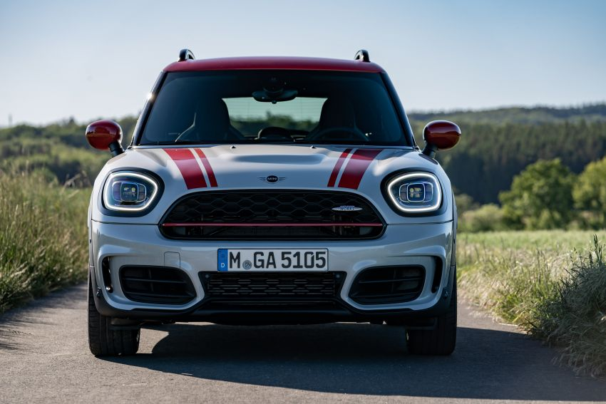 2020 F60 MINI John Cooper Works Countryman facelift debuts – updated styling; new kit; 306 PS and 450 Nm Image #1150474
