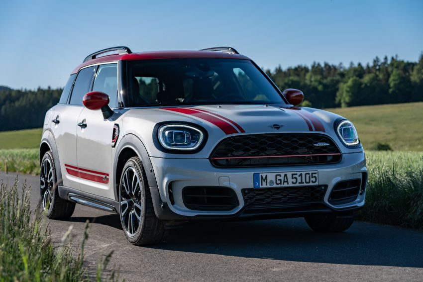 2020 F60 MINI John Cooper Works Countryman facelift debuts – updated styling; new kit; 306 PS and 450 Nm Image #1150481