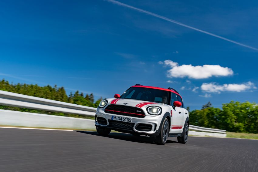 2020 F60 MINI John Cooper Works Countryman facelift debuts – updated styling; new kit; 306 PS and 450 Nm Image #1150408