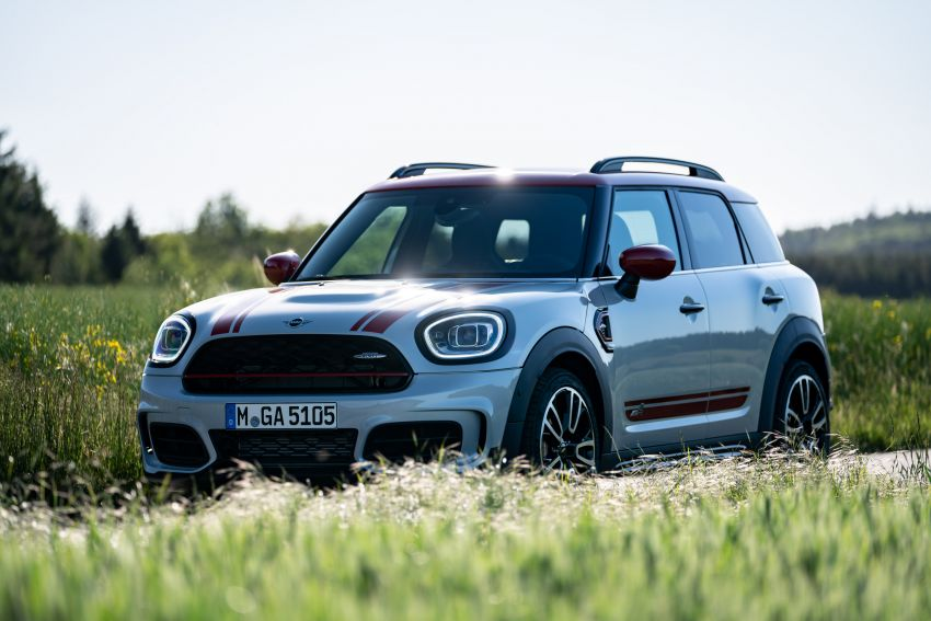 2020 F60 MINI John Cooper Works Countryman facelift debuts – updated styling; new kit; 306 PS and 450 Nm Image #1150490