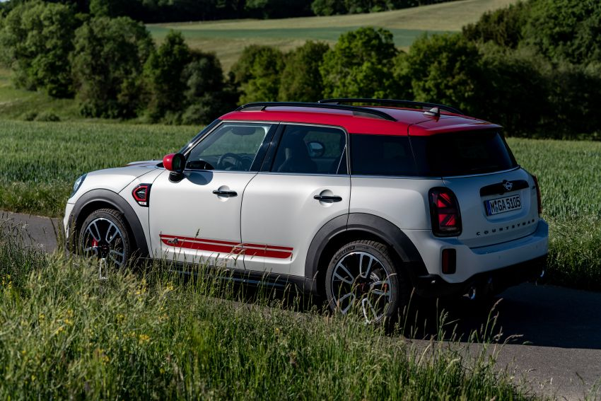 2020 F60 MINI John Cooper Works Countryman facelift debuts – updated styling; new kit; 306 PS and 450 Nm Image #1150509