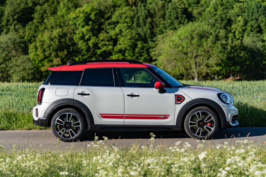 2020 F60 MINI John Cooper Works Countryman facelift debuts – updated styling; new kit; 306 PS and 450 Nm Image #1150514
