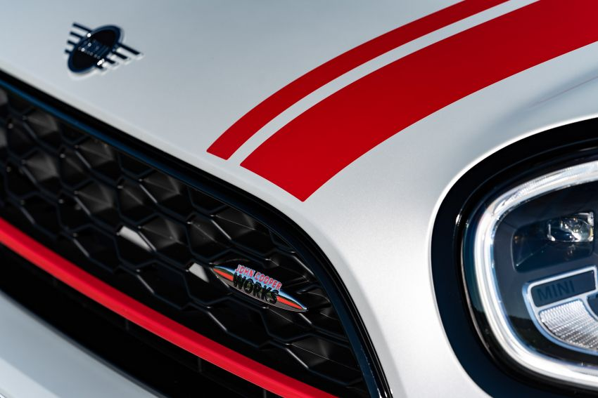 2020 F60 MINI John Cooper Works Countryman facelift debuts – updated styling; new kit; 306 PS and 450 Nm Image #1150534