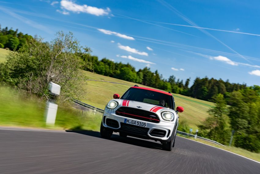2020 F60 MINI John Cooper Works Countryman facelift debuts – updated styling; new kit; 306 PS and 450 Nm Image #1150409