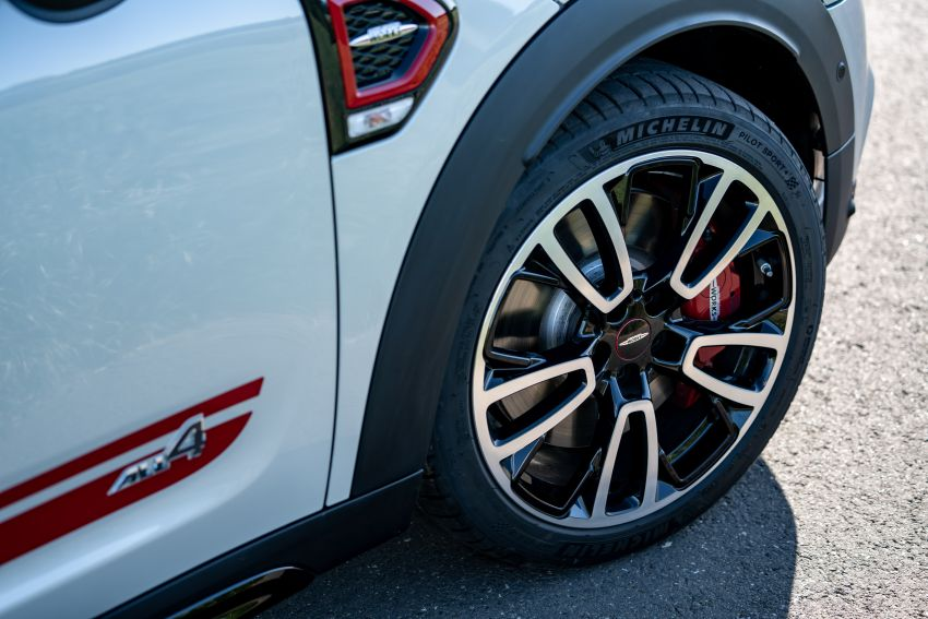 2020 F60 MINI John Cooper Works Countryman facelift debuts – updated styling; new kit; 306 PS and 450 Nm Image #1150536