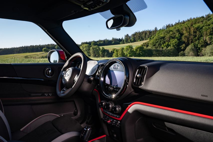 2020 F60 MINI John Cooper Works Countryman facelift debuts – updated styling; new kit; 306 PS and 450 Nm Image #1150543
