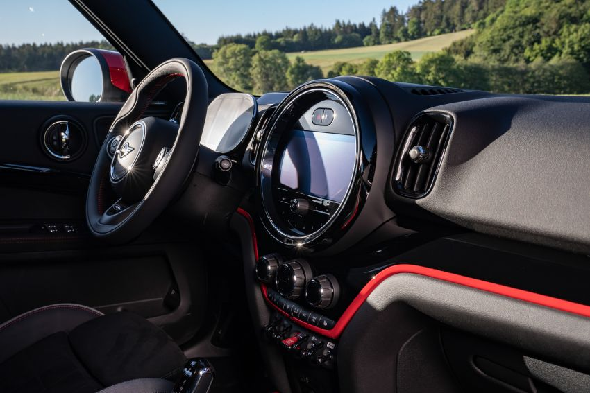 2020 F60 MINI John Cooper Works Countryman facelift debuts – updated styling; new kit; 306 PS and 450 Nm Image #1150545