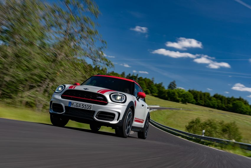 2020 F60 MINI John Cooper Works Countryman facelift debuts – updated styling; new kit; 306 PS and 450 Nm Image #1150410