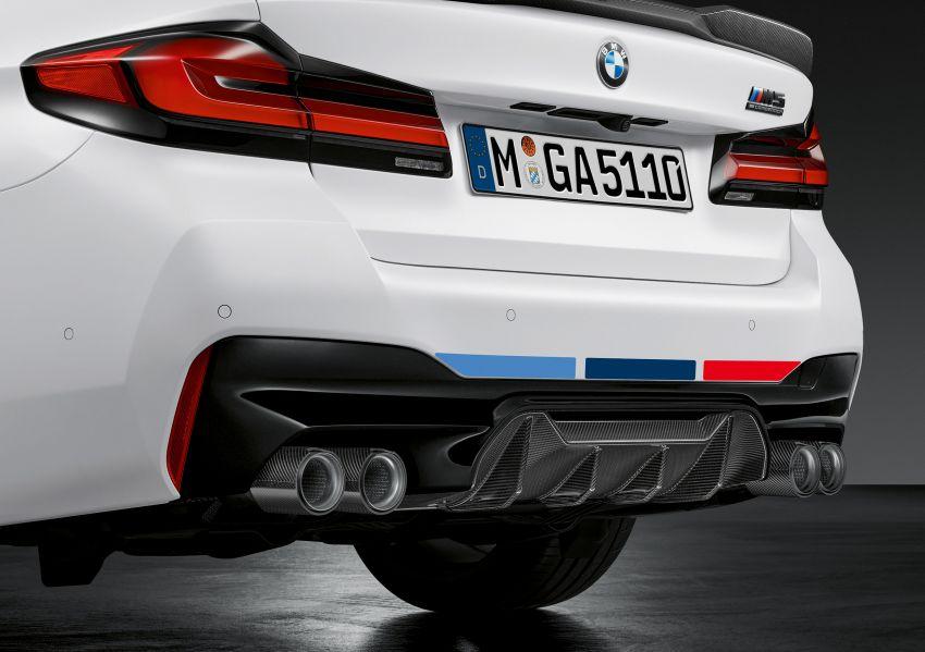 BMW M5 LCI F90 – pilihan aksesori M Performance Image #1153373