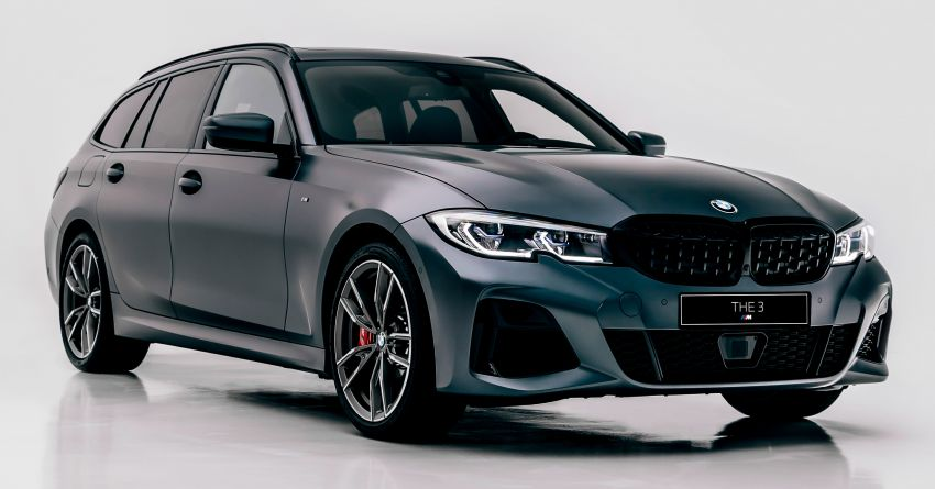BMW M340i xDrive Touring G21 First Edition – edisi terhad 340 unit, enjin 3.0L turbo 369 hp, 500 Nm tork Image #1151406