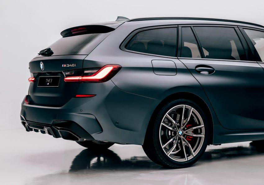 BMW M340i xDrive Touring G21 First Edition – edisi terhad 340 unit, enjin 3.0L turbo 369 hp, 500 Nm tork Image #1151384