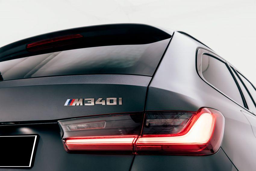 BMW M340i xDrive Touring G21 First Edition – edisi terhad 340 unit, enjin 3.0L turbo 369 hp, 500 Nm tork Image #1151379