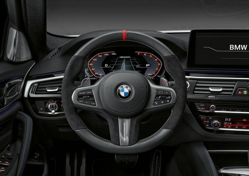 BMW M5 LCI F90 – pilihan aksesori M Performance Image #1153276