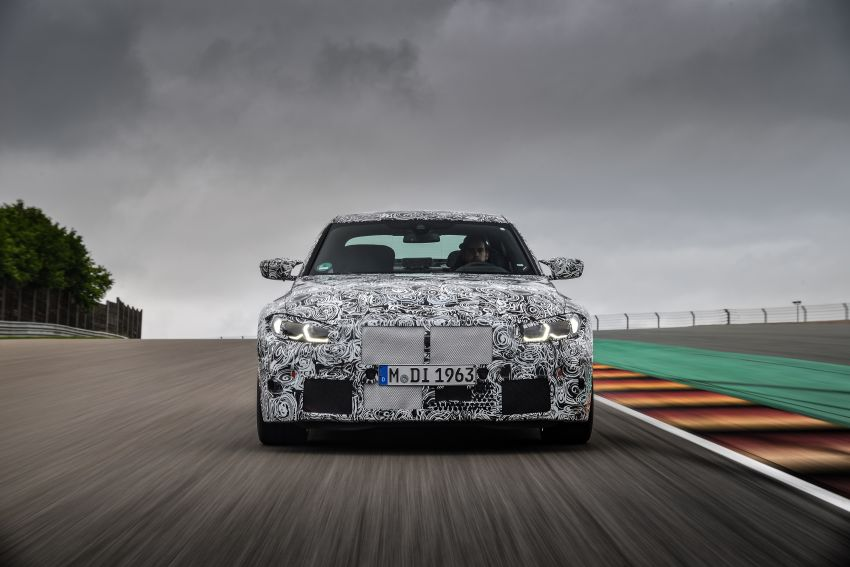 G80 BMW M3, G82 M4 first details – 480 PS with manual, 510 PS Competition with auto, AWD later on Image #1139955