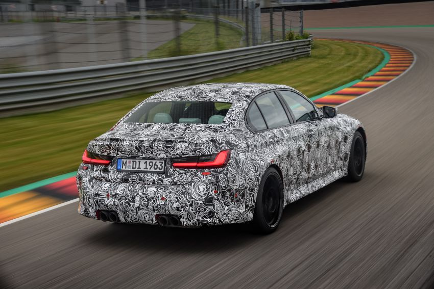 G80 BMW M3, G82 M4 first details – 480 PS with manual, 510 PS Competition with auto, AWD later on Image #1139971