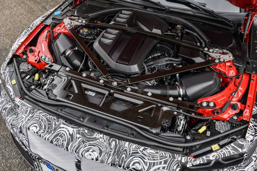 G80 BMW M3, G82 M4 first details – 480 PS with manual, 510 PS Competition with auto, AWD later on Image #1139979