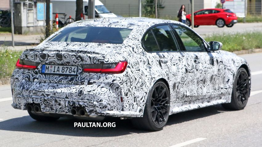 SPYSHOTS: G80 BMW M3 finally bares <em>massive</em> grille Image #1149860