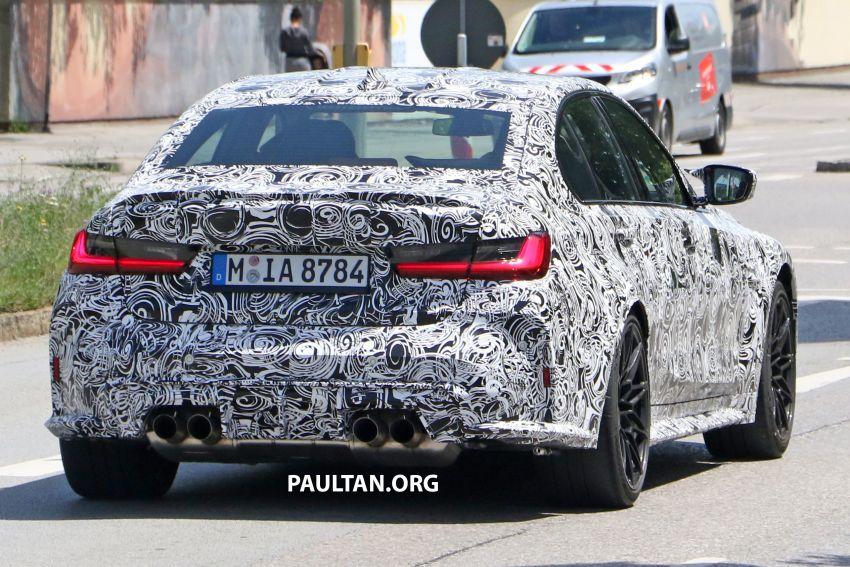 SPYSHOT: BMW M3 G80 akhirnya juga dapat gril besar Image #1149900
