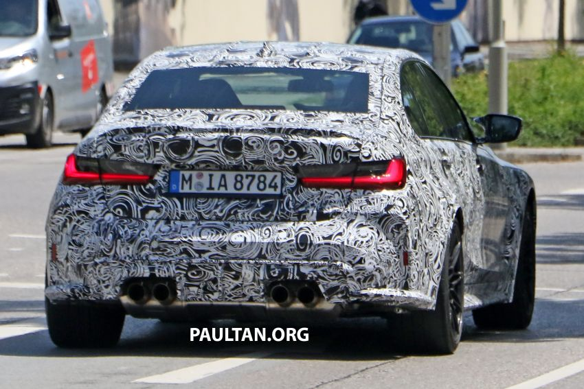 SPYSHOTS: G80 BMW M3 finally bares <em>massive</em> grille Image #1149871