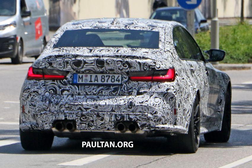 SPYSHOT: BMW M3 G80 akhirnya juga dapat gril besar Image #1149898
