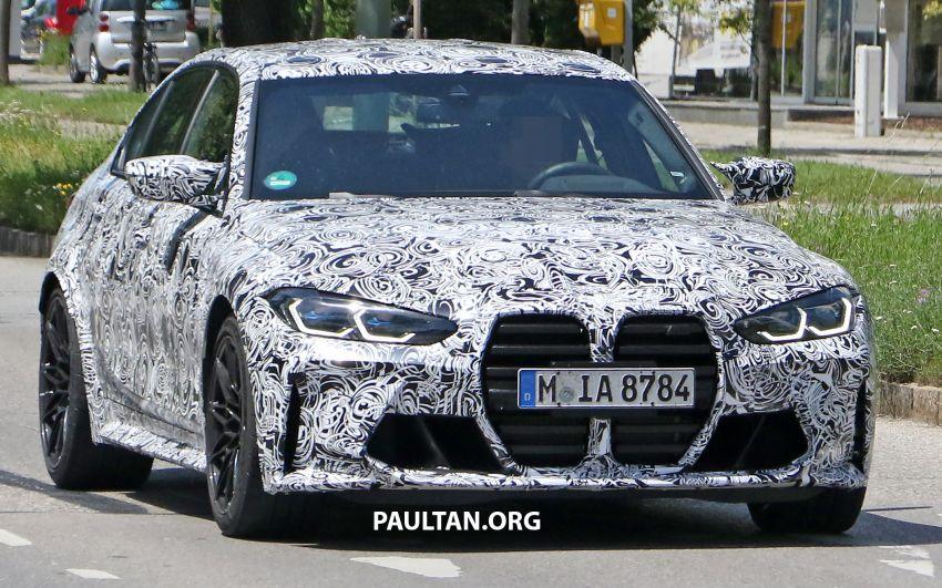 SPYSHOTS: G80 BMW M3 finally bares <em>massive</em> grille Image #1149863