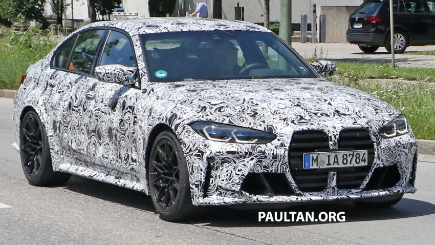 SPYSHOTS: G80 BMW M3 finally bares <em>massive</em> grille Image #1149866