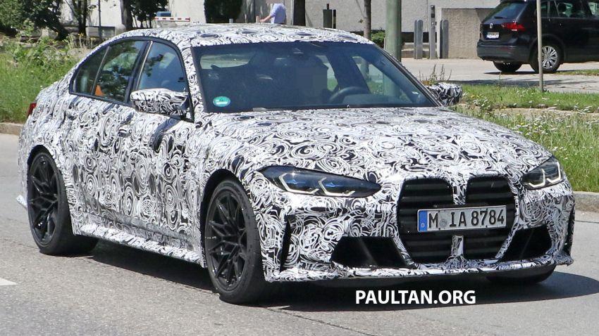SPYSHOTS: G80 BMW M3 finally bares <em>massive</em> grille Image #1149866