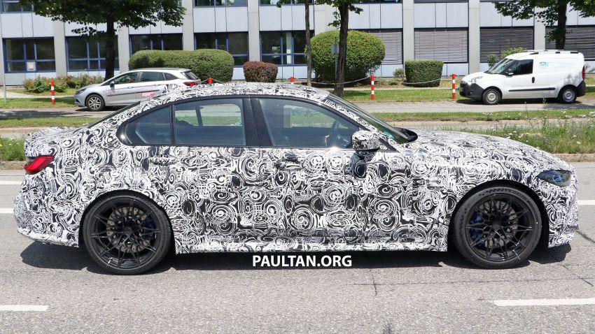 SPYSHOT: BMW M3 G80 akhirnya juga dapat gril besar Image #1149894