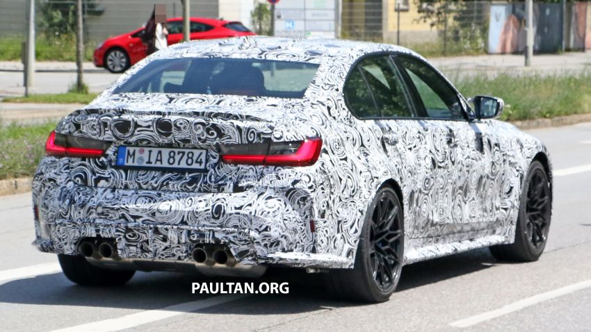SPYSHOT: BMW M3 G80 akhirnya juga dapat gril besar Image #1149901