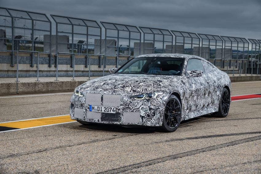 G80 BMW M3, G82 M4 first details – 480 PS with manual, 510 PS Competition with auto, AWD later on Image #1139994