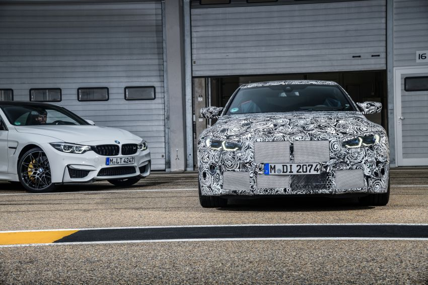 G80 BMW M3, G82 M4 first details – 480 PS with manual, 510 PS Competition with auto, AWD later on Image #1139987