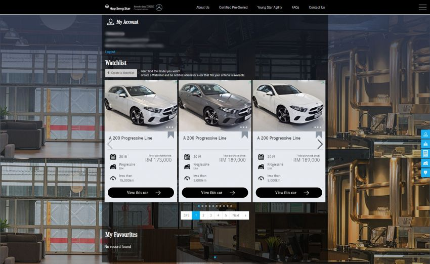Hap Seng Star enhances Mercedes-Benz Certified online site with new features – more filters, watchlist Image #1151464